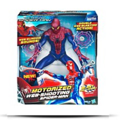 Amazing Motorized Web Shooting Figure
