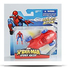 Spiderman Rool Into Action Racer Action