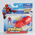 spider-man rool into action racer figure