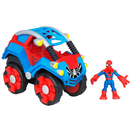 Spiderman Flip Out Stunt Buggy